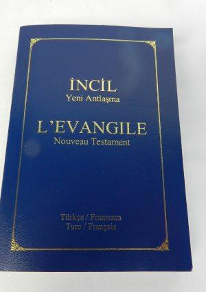Nouveau Testament Turc/Français