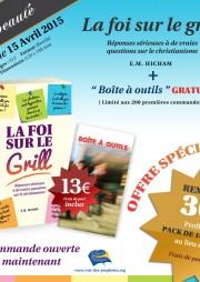 La fois sur le grill _ offre specialle 13 euros